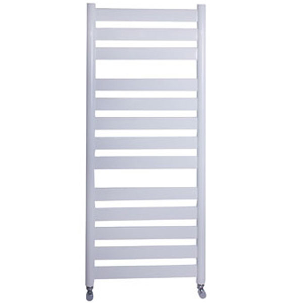 Vogue Vela Heated Towel Rail 1300mm H x 500mm W Central Heating