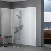 AKW Wet Floor Shower Screens