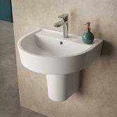 Basins with Semi Pedestals