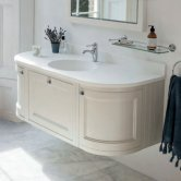 Burlington 134 Curved Bathroom Furniture