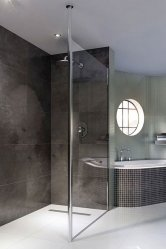 Coram Column Glass Shower Panels