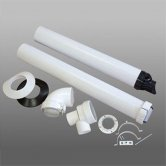 Firebird Plas-Fit Plastic Flue Kits 125mm