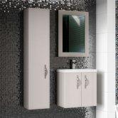 Hudson Reed Apollo Cashmere Bathroom Furniture