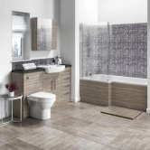 Hudson Reed Driftwood Fitted Bathroom Furniture