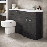 Hudson Reed Hacienda Black Fitted Bathroom Furniture