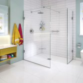 Impey Wet Room Glass Panels