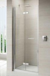 Merlyn 8 Series Frameless Bi-Fold Shower Doors