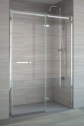 Merlyn 8 Series Frameless Hinged Shower Doors