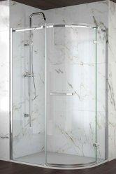 Merlyn 8 Series Frameless Offset Quad Shower Doors