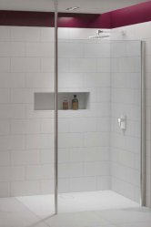 Merlyn 8 Series Vertical Brace Shower Walls
