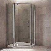 Mira Leap Pentagon Shower Enclosures