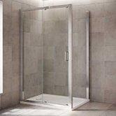 Mira Leap Sliding Shower Doors