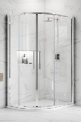 Offset Quadrant Shower Doors