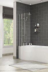 P-Shaped Shower Baths