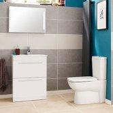 Nuie Design White Bathroom Furniture