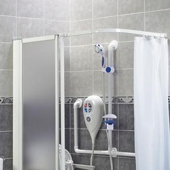 AKW Shower Curtain Rails