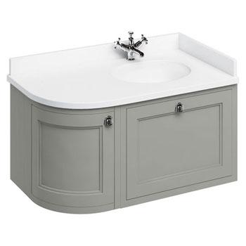 Burlington 100 Curved Bathroom Furniture