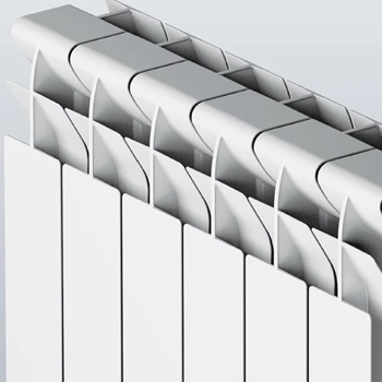 Faral Tropical 95 Aluminium Radiators