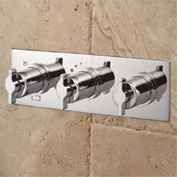 Ideal Standard Silver Shower Valves