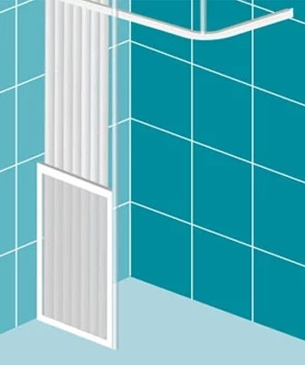 Impey Elevate Option C Half-Height Shower Doors