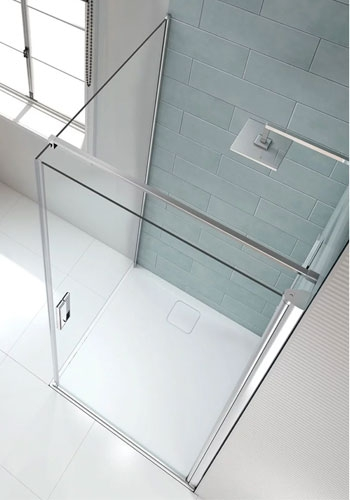 Merlyn 8 Series Frameless Pivot Shower Doors