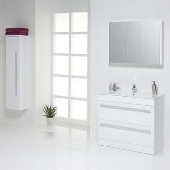 Prestige Elegance White Bathroom Furniture