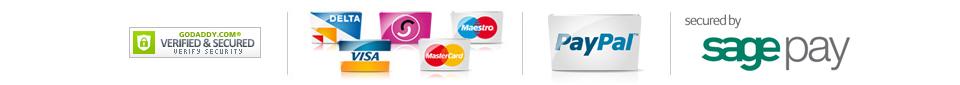We accept the following payment methods on HeatandPlumb.com